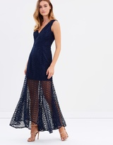 About You Lace Gown