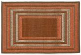 Liora Manné Trans Ocean Imports Terrace Etched Border Indoor Outdoor Rug