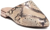 Rockport Zuly Leather Snakeskin Embossed Mule