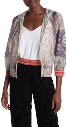 Anna Sui Deco Atlas Hooded Jacket