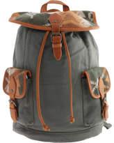 Pendleton Women's Canvas Rucksack - Sunset Pass Green Casual Handbags