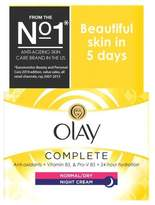 Olay Complete 3in1 Normal/Dry Night Cream Moisturiser 50ml