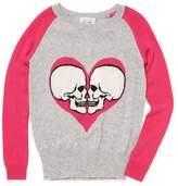 Autumn Cashmere Cashmere Skull Intarsia Sweater
