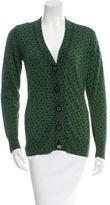 Tory Burch Patterned Wool Cardigan