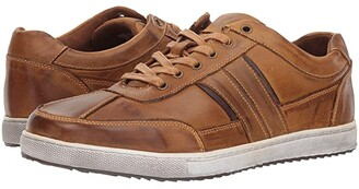 Kenneth Cole Reaction Sprinter Sneaker (Tan Leather) Men's Lace up casual Shoes