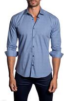 Jared Lang Geo Long Sleeve Trim Fit Shirt