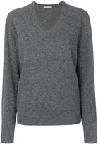 Prada v-neck oversized sweater