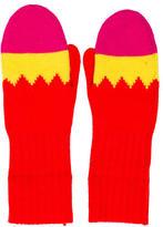 Kate Spade Knit Pow Mittens