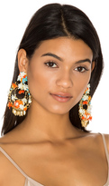 Mercedes Salazar Flor Atardecer Earrings