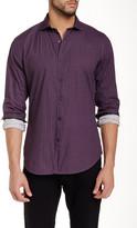 Ganesh Mixed Print Long Sleeve Slim Fit Shirt
