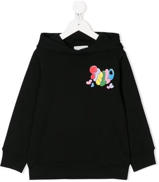 Stella McCartney Love More print hoodie