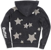 Butter Shoes Girls' Star-Embellished Hoodie