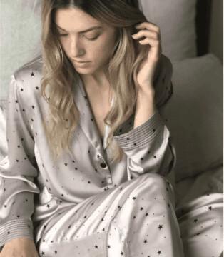 Margaux Star Print Pyjamas
