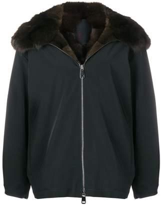 Liska hooded padded jacket