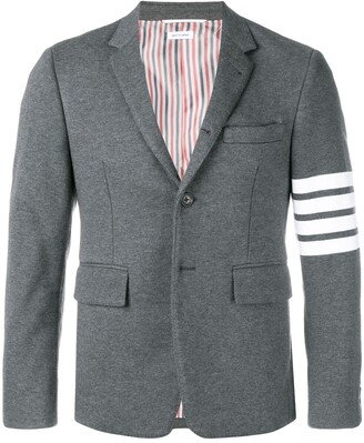 Thom Browne 4-bar jersey sport coat