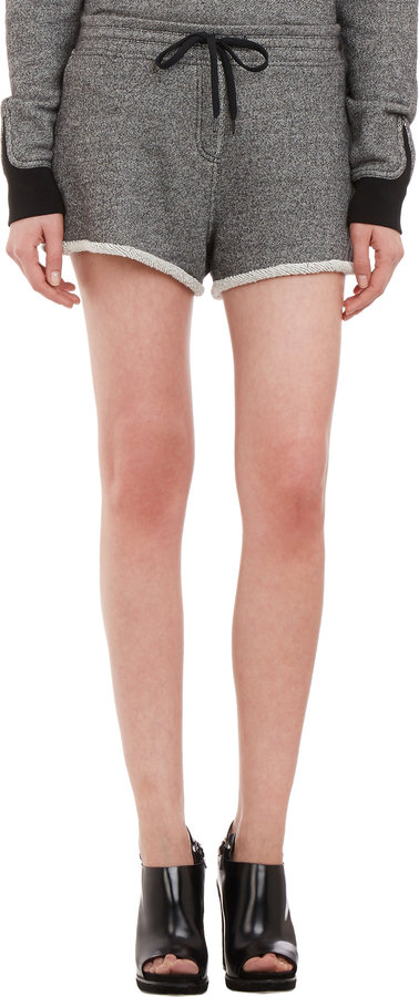 Alexander Wang French Terry Shorts