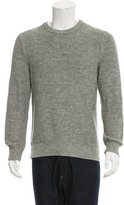 Theory Patterned Knit Crew Neck Sweater