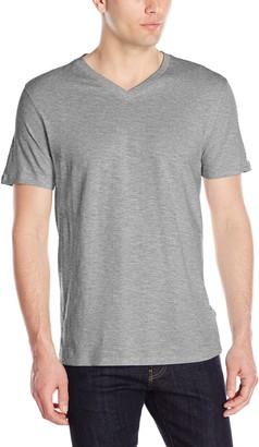 Lee Men's Short Sleeve Casual V Neck T Shirt Regular Big Tall
