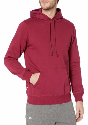 Starter Men's Standard Solid Pullover Hoodie