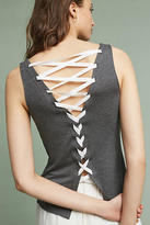 Bailey 44 Laced Back V-Neck Tank Top