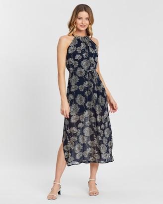 Forcast Elsie Printed Maxi Dress