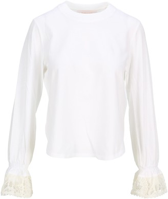 See by Chloe Embellished Long-sleeve T-shirt
