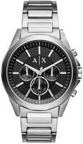 Armani Exchange Men's Chronograph Stainless Steel Bracelet Watch AX2600