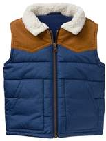 Crazy 8 Sherpa Puffer Vest