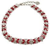 Ben-Amun Ruby Deco Crystal Necklace