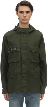 Belstaff Dual Hooded Nylon Parka Jacket