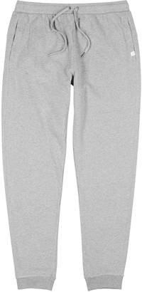 Derek Rose Grey melange cotton sweatpants