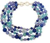 Anne Klein Crystal Multicolored and Beaded Necklace