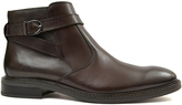 Joseph Abboud Brown Bodie Leather Chelsea Boot
