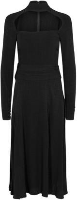Rotate by Birger Christensen Ellen Slit Midi Dress