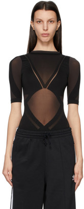 Wolford Black adidas Originals Edition Sheer Motion Bodysuit