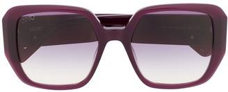 Liu Jo gradient lens sunglasses