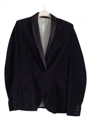 Bellerose Navy Velvet Jackets