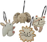 Creative Bath Creative BathTM Animal Crackers Shower Curtain Hooks