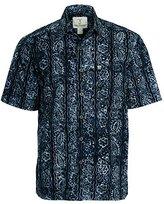 Artisan Outfitters Mens Big Tall Riptide Tropical Batik Shirt 2XLT A0214-49-2XLT