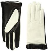 Kate Spade Color Block Bow Short Gloves