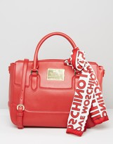 Love Moschino Tote Bag With Logo Scarf