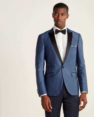 Paisley & Gray Slim Fit Satin Peak Lapel Sport Coat
