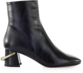 L'Autre Chose Lautre Chose Black Leather Ankle Boot
