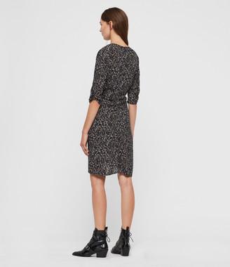 AllSaints Josephine Waterleo Dress