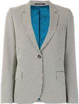 Paul Smith single breasted vichy blazer