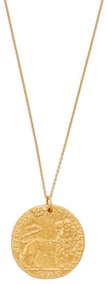 Alighieri Il Leone 24kt Gold-plated Necklace - Gold