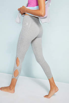 Free People Movement Infinity Leggings By Movement in Grey Size XL