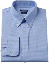 Croft & Barrow Men's Fitted Checkered No-Iron Dress Shirt