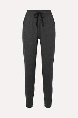 We/Me - The Zen Stretch-jersey Track Pants - Charcoal