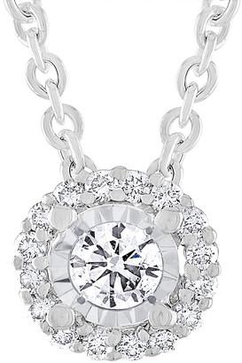 Diana M Fine Jewelry 14K 0.25 Ct. Tw. Diamond Necklace